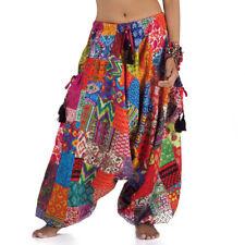 Thai Hippie Haremshose Hose Aladinhose Pumphose Yogahose Ballonhose 36 38 40 42