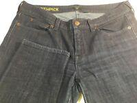 J Crew womans toothpick jeans size 30 dark wash stretch US size 10 EUC