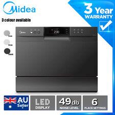 MIDEA Benchtop dishwasher Countertop Child lock Strong Express wash LED display