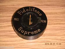Vintage Fidelitone Supreme Phonograph Needle w/ Record Brush NOS by Permo.