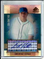 Cory Patton 2004 SP Prospects Gold Autograph #05/10