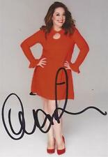 EMMERDALE/STRICTLY COME DANCING: LISA RILEY SIGNED 6x4 PORTRAIT PHOTO+COA