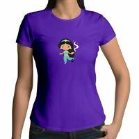 Juniors Girl Women Shirts Tee T-Shirt Disney Princess Jasmine Lamp Magic Wishes