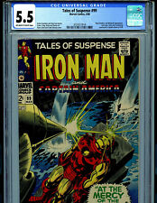 Tales of Suspense #99 CGC 5.5 1968 Silver Age Marvel Last Issue Amricons B12