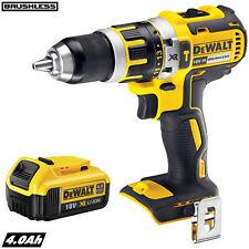 Dewalt DCD795N 18V XR Brushless Combi Hammer Drill With 1 x 4.0Ah DCB182 Battery