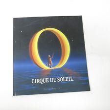CIRQUE DU SOLEIL musical souvenir program 1991 theater O water circus Bellagio