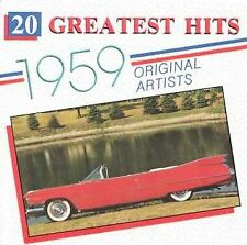 20 GREATEST HITS FROM 1959 ALL ORIGINAL ARTISTS - GREAT OLDIES MUSIC