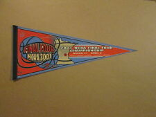 NCAA 2001 Final Four Championship Twin Cities Pennant#2