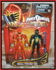 Power Rangers DINOTHUNDER BLACK TRIPTOID red MYSTIC