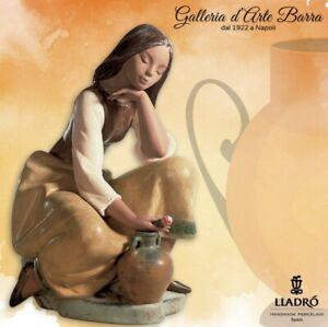 Lladró porcelana Artística Gres By Lladro.scultura, Figura, Recipiente Romántica