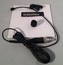 PL5b-SE: Lavalier Lapel Microphone Black - Sennheiser ew100 ew300 -Plain Vanilla