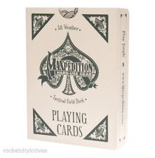 New Authentic Maxpedition Tactical Deck Waterproof Playing Cards TACFIELDDECK