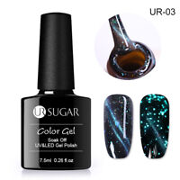 UR SUGAR 7.5ml Nagel Gellack Magnetisch Leuchtend Soak Off UR03 UV Gel Nagellack
