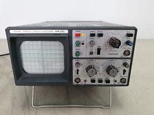 HAMEG HM203 Dual Trace Oscilloscope 20MHz Lab