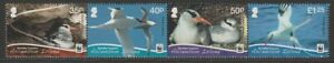ASCENSION 2011 MINT Red billed Tropic bird set without frame WWF Sc1038a-d MNH