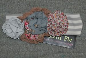 Mustard Pie Headband (SB Gray Flora Band) - Size S - NWT