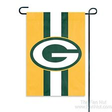 Green Bay Packers GARDEN Window Flag Banner Applique Embroidered Football