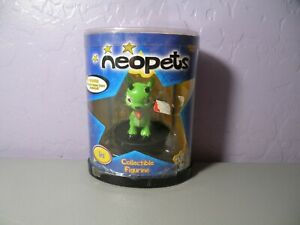 Ixi Neopet collectable figure trading card sample thinkway 2003 vintage