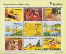 Maldiven 1831-1839 Velletje (compleet Editie) postfris MNH 1992 Vergnügungspark