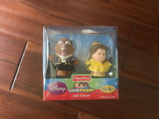 Brand New Fisher Price Little People Disney Princess Belle and Beast