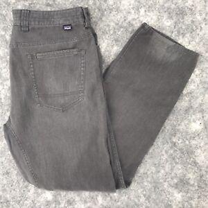 "Patagonia men's pants size 38 Hemp Overstone 58271 actual 38"" x 32.5 gray"""