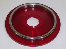 STOP LIGHT RED LENS ONLY FOR 1962 FORD GALAXIE WITH BACK-UP LAMPS NORS