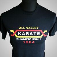The Karate Kid Movie Themed Retro T Shirt Cobra Kai Miyagi 1984 MMA Kung Fu