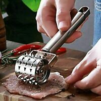 Meat Tenderizer Roller Stainless Steel Hammer Mallet For Steak Beef Chicken Tool