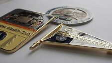 3 Mercedes W111 W112 W109 W108 classic Car Grill badges - Great Value set of 3