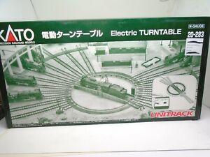 Kato N 20-283 Uni-Track Electric Turntable set