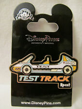 Wdw~Vintage 2008 Epcot Attraction - Epcot Test Track Car S64 Logo Pin # 252