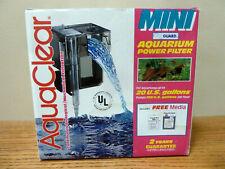 Hagen Aquaclear Mini Aquarium Fish Tank Power Filter up to 20 Gallons NEW