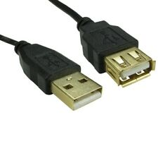 3m USB 2.0 EXTENSION Cable Lead A Male To A Female GOLD CONNECTORS 10ft