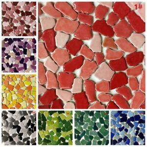 Creative Ceramic Mosaic Tiles Wall Crafts Various Mixes Optic Drops 100g
