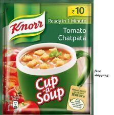 New 5 X Knorr Cup A Soup Hot & Sour Veg - 11 Gram