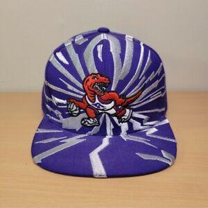 Mitchell & Ness Toronto Raptors Team Ground Logo Snapback Hat Cap NBA Shockwave
