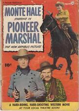 Fawcett Movie Comic # 4 Monte Hale In Pioneer Marshal 1950 GD+