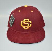 USC Trojans Vintage NCAA Classic Sportswear Fitted Cap Hat - Size: 7 1/8