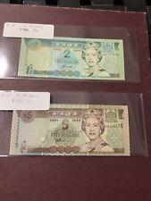 Fiji, 5 10 dollars, Nd (1998) P-101. 96 Qeii, Unc