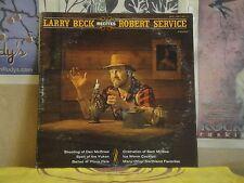 LARRY BECK RECITES ROBERT SERVICE VOL 1 - LP BOA-LBR-001-1 BARD OF ALASKA