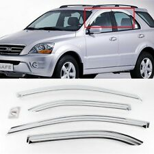 Exterior Chrome Window Sun Visor Cover Molding K-639 for Kia Sorento 2003-2008