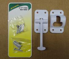 """RV - """"T"""" Nylon Entry Door Holder, 3.5"""", WHITE, 8 Screws"""