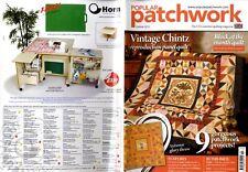 Revista Patchwork populares 2013 de octubre-Vintage Zaraza, Otoño Gloria Tirar