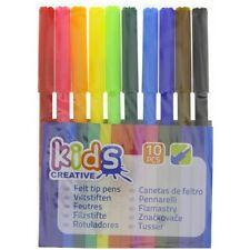 10 Crayons Feutre Couleur Coloriage Dessin Kids Créative