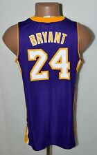 NBA LOS ANGELES LAKERS BACKETBALL SHIRT ADIDAS #24 BRYANT SIZE XL KIDS