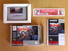 Game ☆ SUPER CASTLEVANIA IV (Konami) Super Nintendo SNES PAL ☆ VGC Very rare