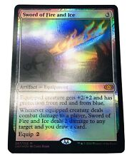 Mtg. 2xm. Double Masters. 297. Sword Of Fire And Ice. Foil.