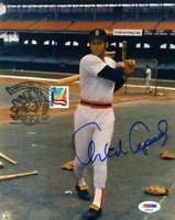 Orlando Cepeda Psa Dna Coa Autograph 8x10 1999 Postmarked Photo  Hand Signed Aut