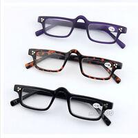 Fashion Reading Glasses mini Eyeglasses Eye Reader Plastic Frame +1.0 ~ +4.0