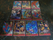 1995 Fleer Marvel Metal---Metal Blasters---Lot Of 10---Multi-Lots---See List